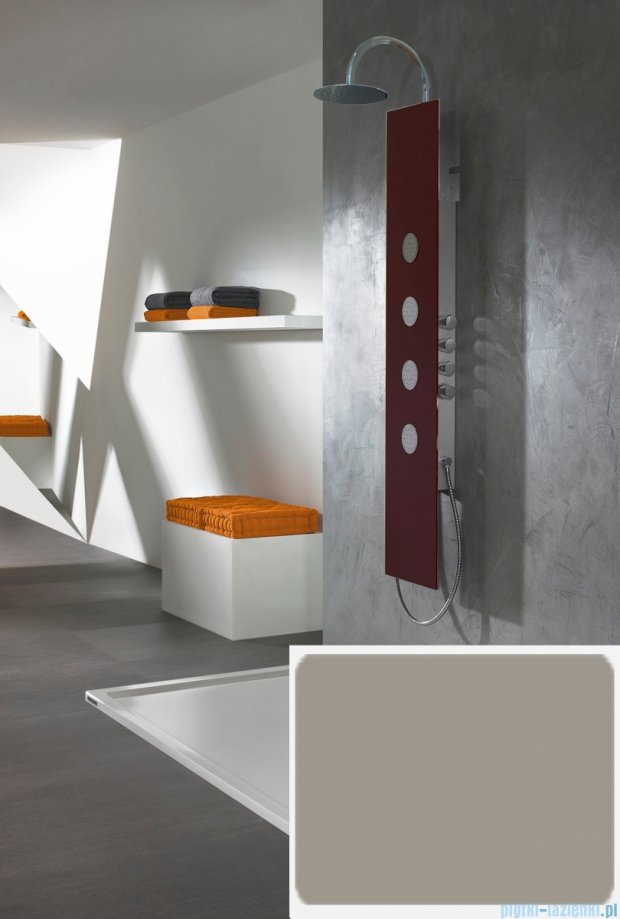Sanplast Space Line panel prysznicowy PPo/SPACE-150 31x150 cm kamiennoszary 631-100-0130-52-000
