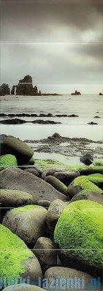 Tubądzin Lemon Stone obraz ścienny 7-el 74,8x209,8