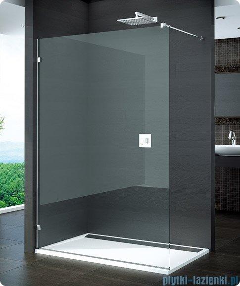 SanSwiss Pur PDT4 Ścianka wolnostojąca 30-100cm profil chrom szkło przezroczyste Lewa PDT4GSM21007