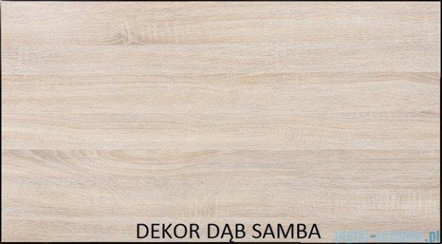 Antado Spektra ceramic szafka z umywalką 82x43x40 dąb samba FDF-AT-442/85GT-62+UCS-AT-85