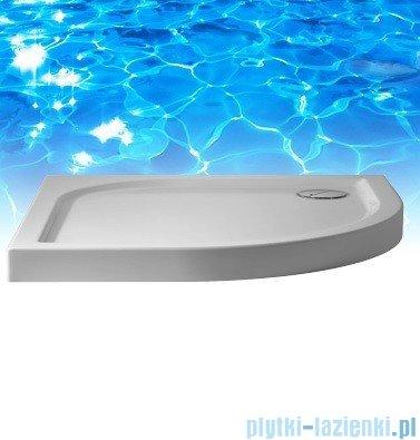 Omnires Canoe Lux brodzik biały płytki 80x80x4/6cm CanoeLux80