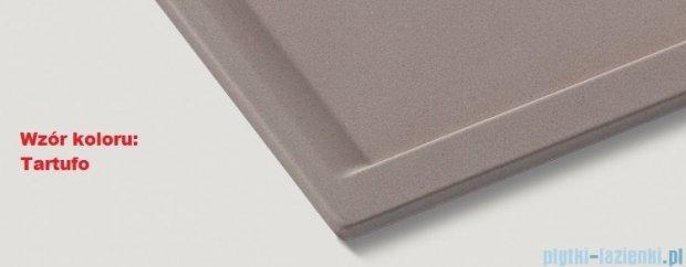 Blanco Zenar XL 6 S  Zlewozmywak Silgranit PuraDur komora prawa kolor: tartufo z kor. aut. i szklaną deską do krojenia 519279