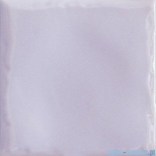 Paradyż Tamoe ondulato lila płytka ścienna 9,8x9,8