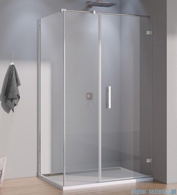 SanSwiss Pur PU31 Kabina prysznicowa 140x90cm prawa szkło przejrzyste PU31PD1401007/PUDT3P0901007