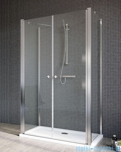 Radaway Eos II DWD+2S kabina prysznicowa 80x120x80x197 szkło przejrzyste 3799404-01/3799410-01L/3799410-01R