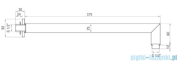 Deante Anemon komplet podtynkowy chrom NAC 09AP