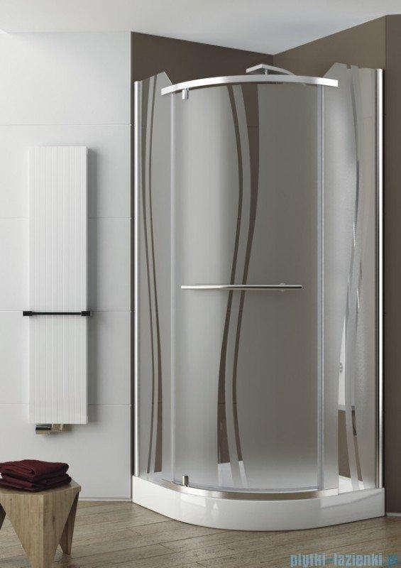 Aquaform Puenta Swing kabina prysznicowa półokrągła 90x90cm 06326