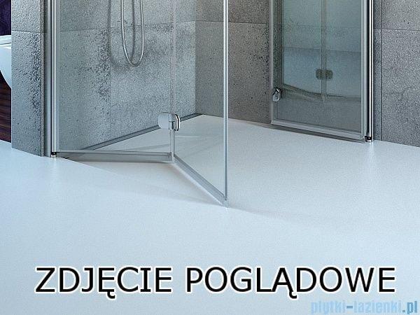 Radaway Fuenta New Kdj+S kabina 80x100x80cm lewa szkło przejrzyste 384022-01-01L/384051-01-01/384051-01-01