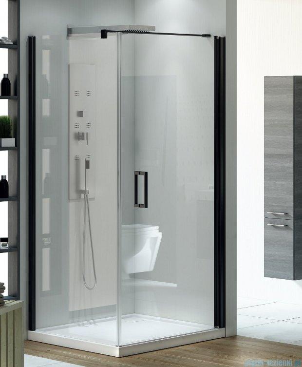 New Trendy Negra kabina prysznicowa 80x90cm przejrzyste EXK-1193/EXK-1129