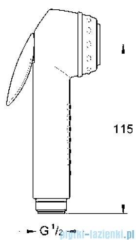 Grohe Relexa prysznic ręczny z przyciskiem uruchamiającym  28020L00