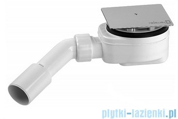 Radaway Espera KDD Kabina prysznicowa 80x100 szkło przejrzyste + brodzik Argos D + syfon 380150-01L/380152-01R/4AD810-01