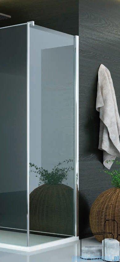 SanSwiss Pur PUDT3P Ścianka boczna 120x200cm krople PUDT3P1201044