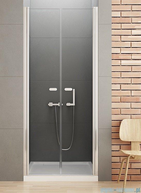 New Trendy New Soleo drzwi wnękowe dwuskrzydłowe 120x195 cm przejrzyste D-0128A