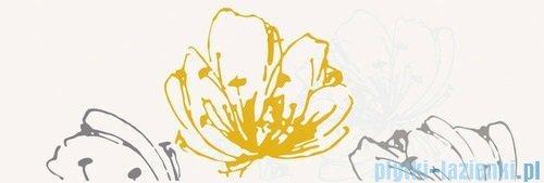 Paradyż Midian giallo kwiat inserto ścienne 20x60
