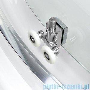 New Trendy Varia kabina półokrągła 80x80x185cm szkło discret K-0211