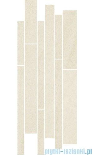 Paradyż Arkesia bianco mix paski listwa 20x52