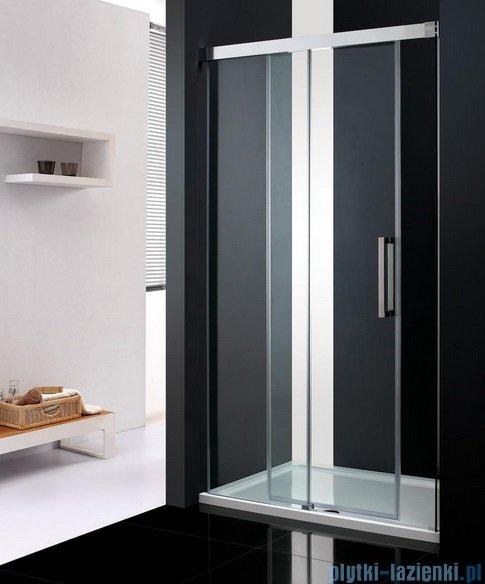 Atrium Trento drzwi wnękowe przesuwne kolor: przejrzyste 100x200 cm HP2100