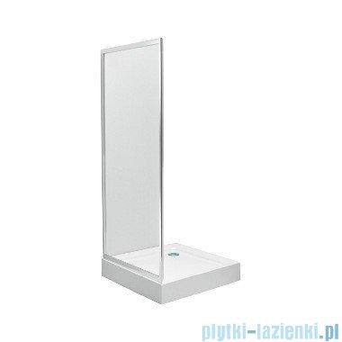 Koło First Ścianka boczna 90cm szkło satyna profil srebrny połysk ZSKX90214003