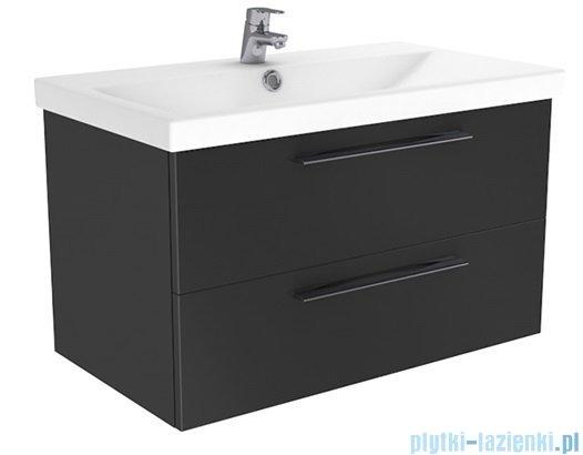 New Trendy Notti szafka umywalkowa 60 + umywalka biały połysk ML-EL060
