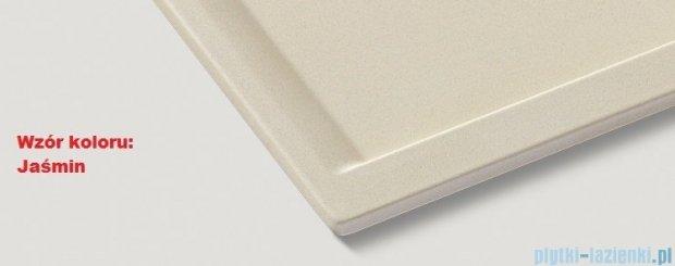 Blanco Zenar XL 6 S-F  Zlewozmywak Silgranit PuraDur komora lewa kolor: jaśmin z kor. aut. i szklaną deską do krojenia 519202