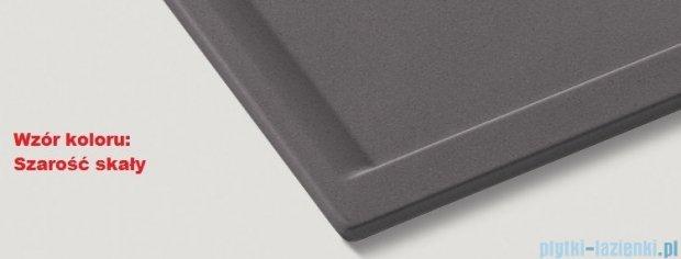 Blanco Zenar XL 6 S-F  Zlewozmywak Silgranit PuraDur komora prawa kolor: szarość skały  z kor. aut. i szklaną deską do krojenia 519308