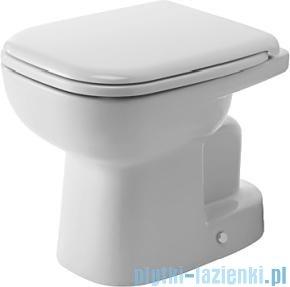Duravit D-Code miska toaletowa stojąca lejowa do niezależnego dopływu wody odpływ pionowy 350x480 mm 211001 00 002