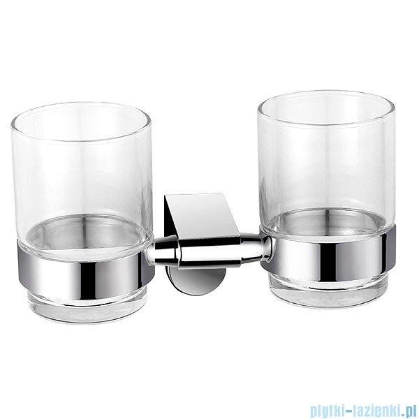 Ferro szklanka podwójna Audrey chrom AD04