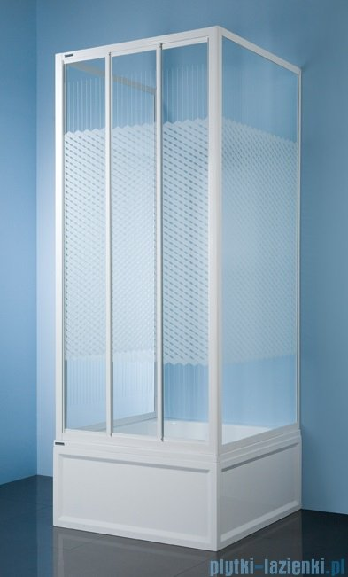 Sanplast kabina przyścienna kwadratowa KT/DTr-c-70 polistyren 600-013-0911-01-520