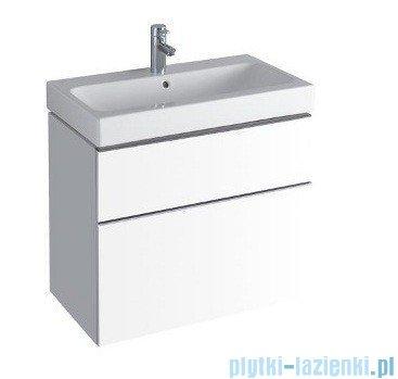 Keramag Icon Szafka wisząca pod umywalkowa 74cm biały połysk 840375