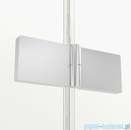 New Trendy New Soleo parawan nawannowy 3-skrzydłowy 100x70x140 cm prawy przejrzyste P-0029/P-0024