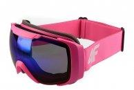 4F JGGD001 Gogle narciarskie dziewczęce ANTI-FOG