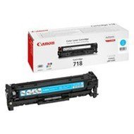 Toner Canon CRG718C do LBP-7200/7210/7660/7680 | 2 900 str. | cyan