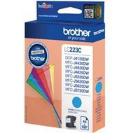 Tusz Brother LC223C (550 stron) MFC-J4420 cyan oryginał