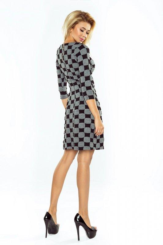 DRESS with sleeves 3/4 - NUMOCO POLAND