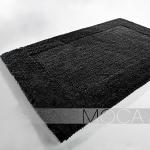 Dywanik łazienkowy Moca Design - Frame - czarny