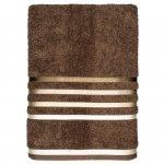Ręcznik Karsten - LUMINA / brown - brązowy