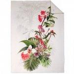 Koc / pled ESTELLA - Egzotyczne Kwiaty