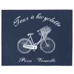 Serweta / podkładka French Home - Bicyclette - granatowa