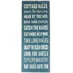 Obraz / tablica - COTTAGE RULES