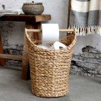 Kosz na papier toaletowy Chic Antique - naturalny