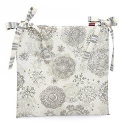 Poduszka na krzesło Christmas - Snow