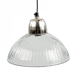 Lampa sufitowa - Striped Glass I