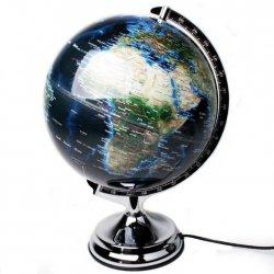 Globus podświetlany LED - Blue - średnica 30 cm