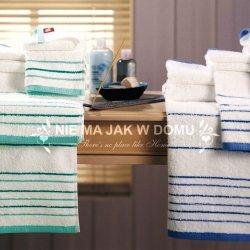 Komplet ręczników Tac - Aqua - 3 szt. - zielone niebieskie