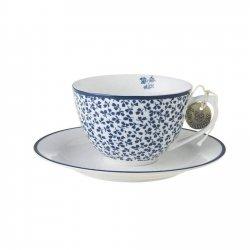 Laura Ashley BLUEPRINT - filiżanka do cappuccino 250 ml - FLORIS