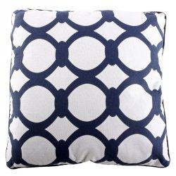 Poduszka dekoracyjna - NYC Kiara - niebieska