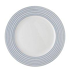 Laura Ashley BLUEPRINT - talerz śniadaniowy 21 cm - CANDY STRIPE