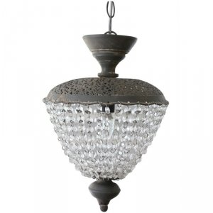 Lampa sufitowa Chic Antique - Vintage Chic - szara