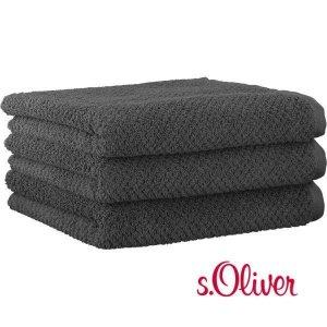 Ręcznik s.Oliver - szary ciemny