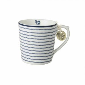 Laura Ashley BLUEPRINT - kubek 220 ml - CANDY STRIPE